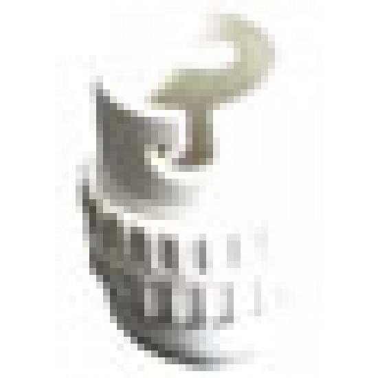 10MM- NYLON WHITE BC(B22)