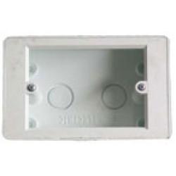 2X4 FLUSH PVC WALL BOX