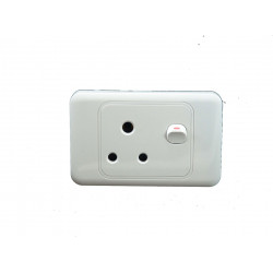 4x2 SINGLE SWITCH  SOCKET LESCO