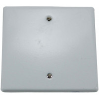 4x4 BLANK COVER PLATE