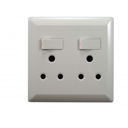 4x4 DOUBLE SWITCH SOCKET  LION LEAR