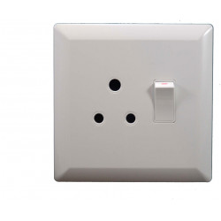 4x4 SINGLE SWITCH SOCKET LION LEAR