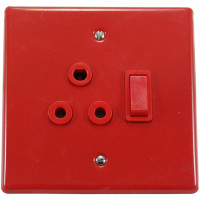 4x4 SINGLE SWITCH SOCKET NO COVER - DEDICATED