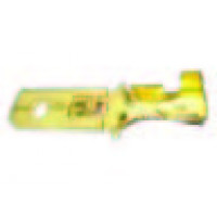 6.3MM BRASS MALE TAB (8PC)